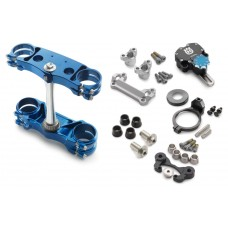 Factory triple clamp / steering damper k