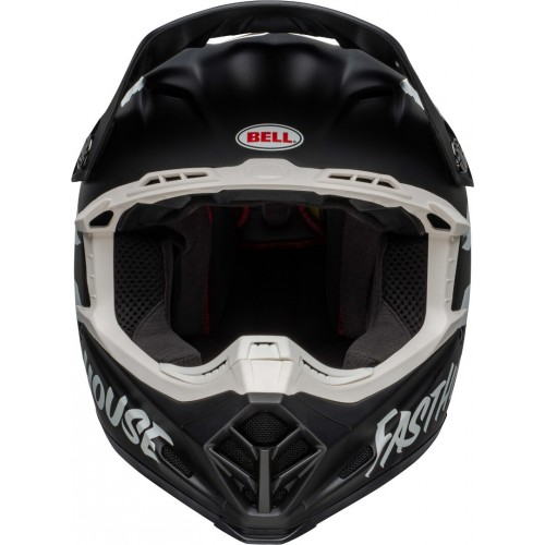 Bell - Moto-9 Fasthouse Signia MIPS Motocross Helmet Black/White - Free Shipping On Orders Over £50