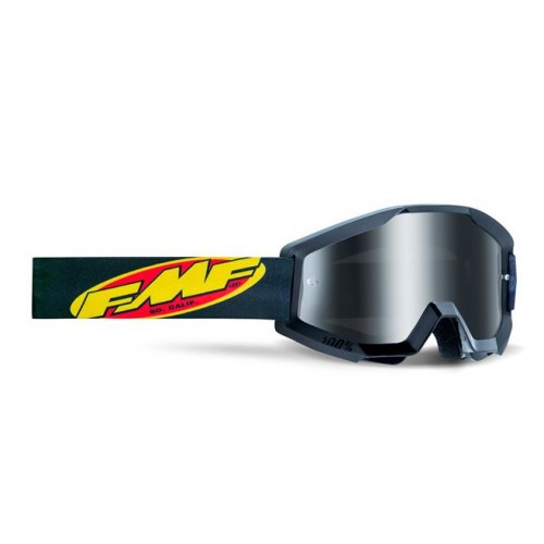 Powercore Youth Goggle Core Black Mirror Sliver Lens