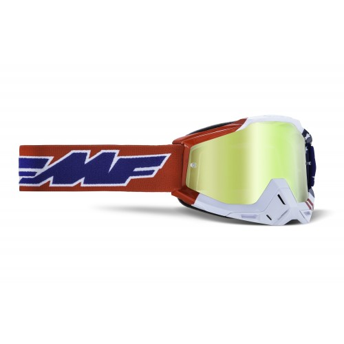 Powerbomb Goggle US of A True Gold Lens