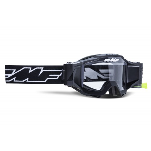 Powerbomb Film System Goggle Rocket Black Clear Lens