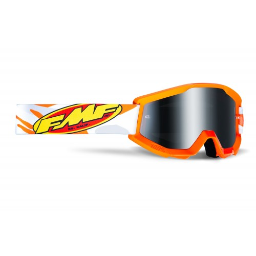 Powercore Goggle Assault Grey Mirror Silver Lens