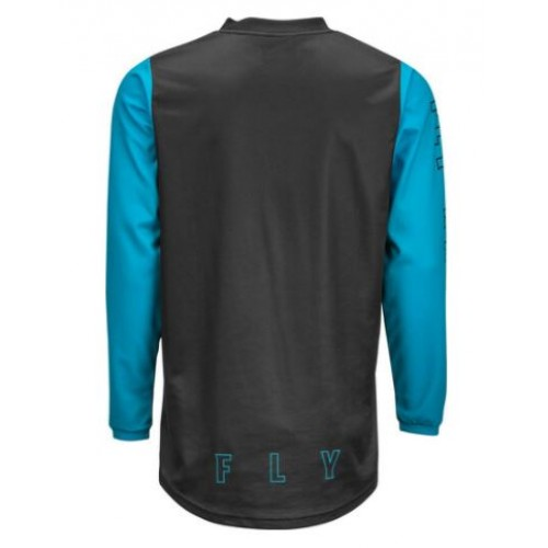 Fly Racing F16 Youth Black/Blue Jersey