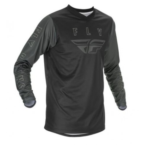 Fly Racing F16 Youth Black/Grey Jersey