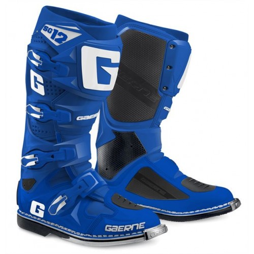 Gaerne SG12 Solid Blue MX Boots