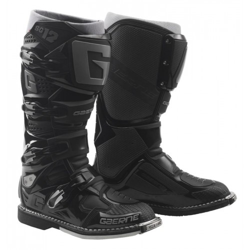 Gaerne - SG12 Black MX Boots - Free Shipping On Orders Over £50