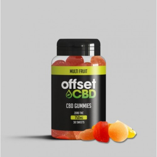 Offset - CBD Gummies 750MG - Free Shipping On Orders Over £50