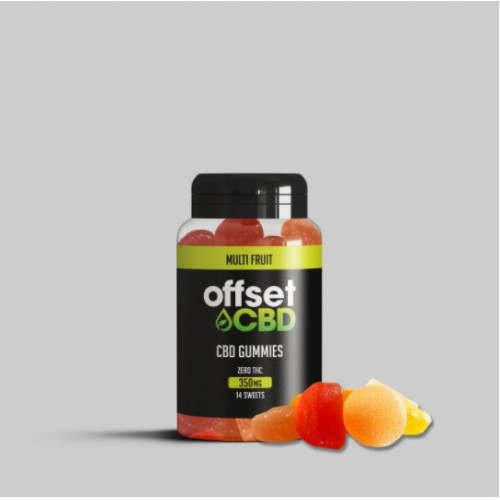 Offset - CBD Gummies 350MG - Free Shipping On Orders Over £50