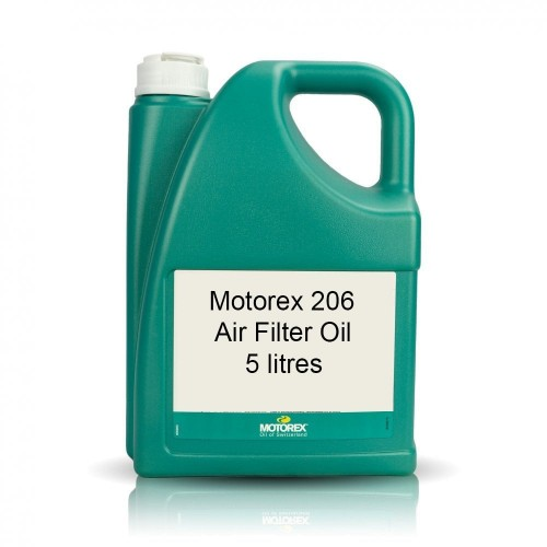 Motorex - Air Filter Oil 206 Liquid (4) Blue 5L - Free Shipping On Orders Over £50