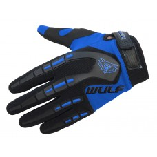 WULFSPORT CUB ATTACK MX GLOVES BLUE
