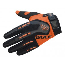 WULFSPORT CUB ATTACK MX GLOVES ORANGE