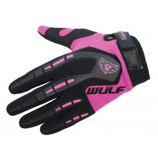 WULFSPORT CUB ATTACK MX GLOVES PINK
