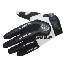 WULFSPORT CUB ATTACK MX GLOVES WHITE