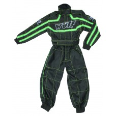WULFSPORT - CUB RACING SUIT GREEN/BLACK - FREE SHIPPING ON ORDERS OVER £50