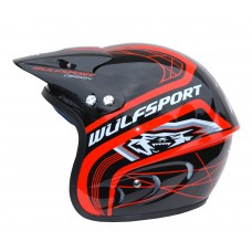 WULFSPORT CUB ACTION HELMET RED