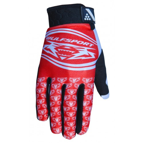 Wulfsport Cub Comp Gloves Red
