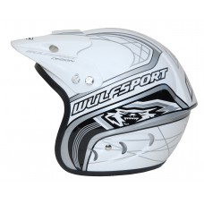 WULFSPORT CUB ACTION HELMET White